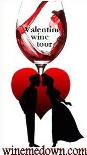 valentines day wine tour, valentines day wine tasting, valentines winery tour